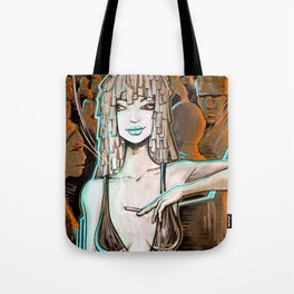 Night Life orange Tote Bag