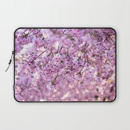Cherry Blossom Flowers Laptop Sleeve