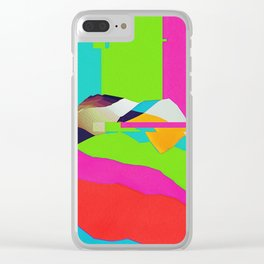 DELETE Clear iPhone Case