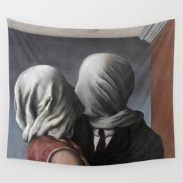 The Lovers II (Les Amants) 1928, Artwork Rene Magritte For Prints, Posters, Shirts, Bags Men Women K Wall Tapestry