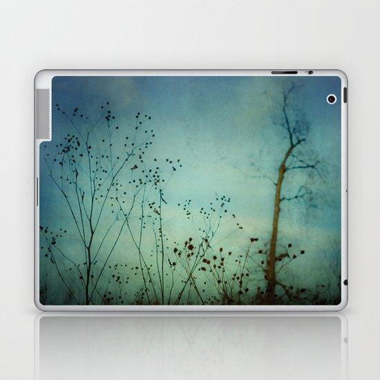 Fleeting Moment - Blue Shades Laptop & iPad Skin