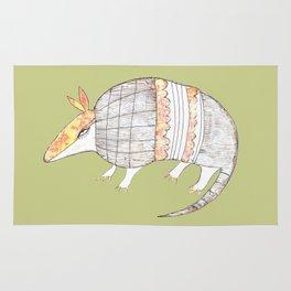 Stich and Fauna:  Armadillo Rug