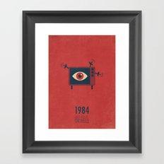 1984 Framed Art Print