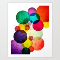 bubbles Art Prints featuring Bubbles by Lawson Images
