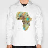 africa Hoodies featuring Africa by bri.buckley
