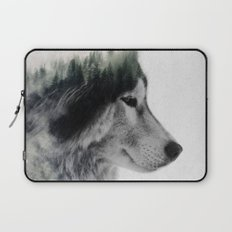 Wolf Stare Laptop Sleeve