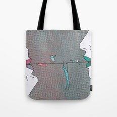 Thin line Tote Bag