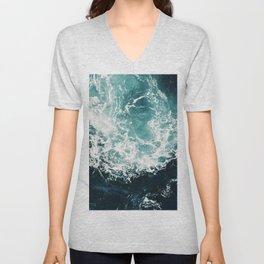 Sea waves II Unisex V-Neck
