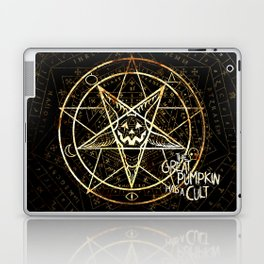 Cult of the Great Pumpkin: Pentagram Laptop & iPad Skin