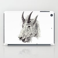 goat iPad Cases featuring Goat by Ursula Rodgers