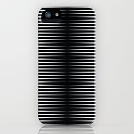 op art - horizontal triangles iPhone Case