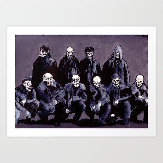SQUAD 666: Bastard Sons of Satan Art Print