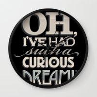 Curious Dream Wall Clock