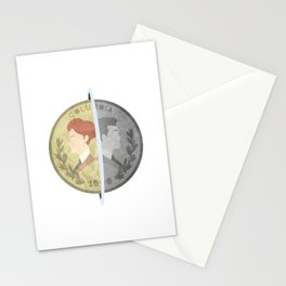 Heads or Tails ? Stationery Cards