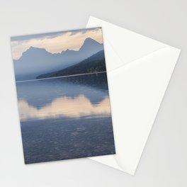 Early Morning at Lake McDonald - Glacier NP Stationery Cards