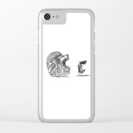 Be Louder Than Your Lions Clear iPhone Case