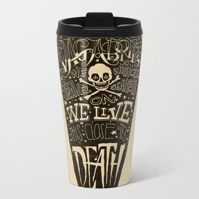 Lyrics & Type Metal Travel Mug