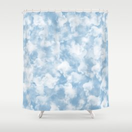 Clouds Pattern Shower Curtain