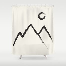 Peaks Shower Curtain