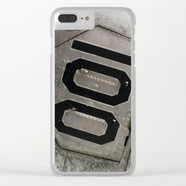Airplane Mode. Fashion Textures Clear iPhone Case