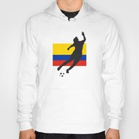 colombia Hoodies featuring Colombia - WWC by Alrkeaton
