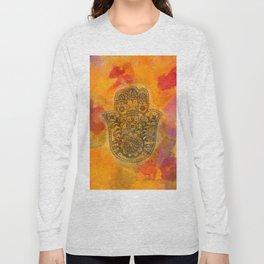 Sunrise Hamsa Long Sleeve T-shirt