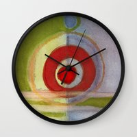 metal Wall Clocks featuring Metal by angela deal meanix