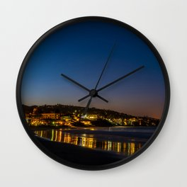 Pre Dawn Laguna Beach Wall Clock