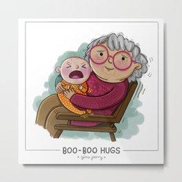 Boo-Boo Hugs Metal Print