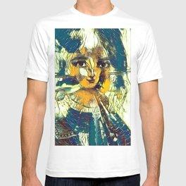 Modern MonaLisa-Le Halston 01 T-shirt