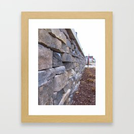 Stones Framed Art Print