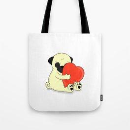 PugHugs Tote Bag