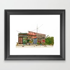 Tokyo Street 7 Framed Art Print