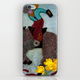 There's Gold In Them Thar Hills iPhone Skin