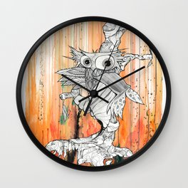Owwie Wall Clock