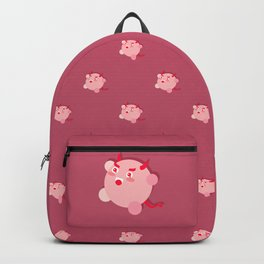 The cutest evil demon ever! pattern Backpack