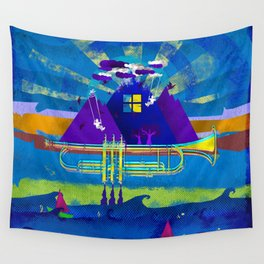 Kind of Blue Wall Tapestry