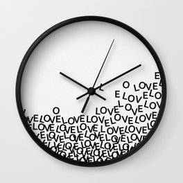 Love Surge Wall Clock