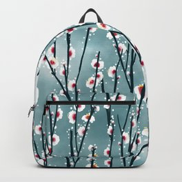 Plum Blossom Branch Pattern Backpack