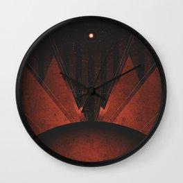 Triton - The Polar Caps Wall Clock