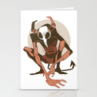 musa Stationery Cards featuring lurk by musa