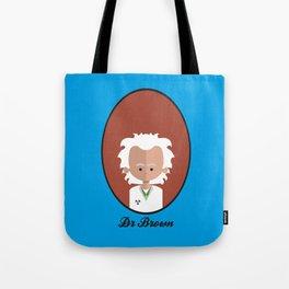 Dr Brown Tote Bag