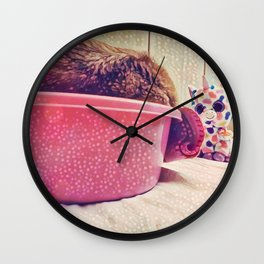 Some Friends have to Walk On Four Legs, Just So They Can Carry Around Such Big Hearts Wall Clock