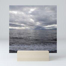 Storming Salish Sea Mini Art Print