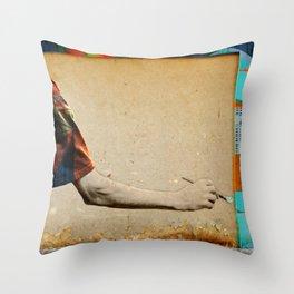 Embodied Throw Pillow
