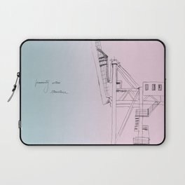 west bund Laptop Sleeve