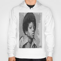 mike wrobel Hoodies featuring Little Mike by JeleataNicole