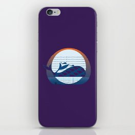 Whale Migration iPhone Skin