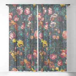 Night Garden XXX Sheer Curtain