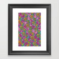 Flower Paisley 1 Framed Art Print